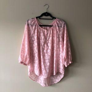 LC Lauren Conrad pink top